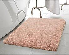 Laura Ashley Bath Rug, 96% polyester/4% lurex