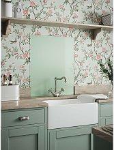 Laura Ashley Eau De Nil Glass Kitchen Splashback