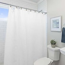 Laura Ashley Shower Curtain Liner, 100% PEVA,
