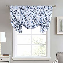 Laura Ashley Stylish Floral Print Valance Curtain,
