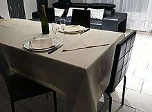 laurentmortreux Round Tablecloth 180 cm Beige