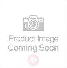 Laurenz fabric ceiling light, three-bulb