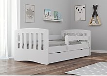 Lauryn Convertible Toddler Bed with Drawers