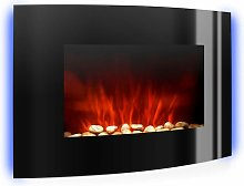 Lausanne Electric Fireplace 2000W LED Flame Effect