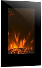 Lausanne Vertical Electric Fireplace 2000 Watts