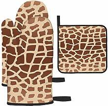 LAVYINGY Print Giraffe Image Crocodile Skin