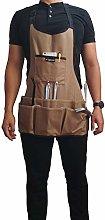 Lawei 600D Oxford Cloth Heavy Duty Work Apron,