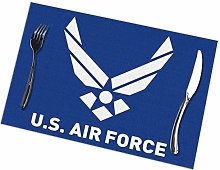 Lawenp Air Logo Placemats for Dining Table Set of