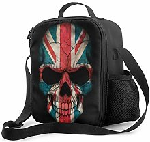 Lawenp Dark Union Jack British Flag Skull