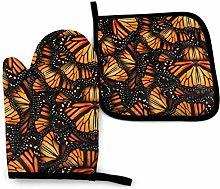 Lawenp Heaps of Orange Monarch Butterflies Cotton