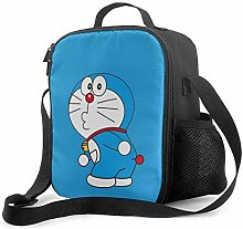 Lawenp Lunch Bag Insulated Lunch Box Cool Doraemon