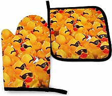 Lawenp Rubber Ducky with Sunglasses Cotton Kitchen