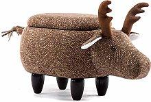 LAYG Footstool Animal Ottoman Footstools And