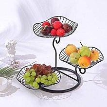 LAYG-Fruit Bowls Fruit Basket Fruit Racks,3 Tier