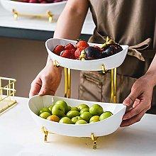 LAYG-Fruit Bowls Fruit Basket Storage Bowl,2/3