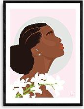 Layover Art - 'Bloom' Framed Print, 83.4 x