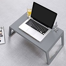 Lazy Laptop Bed Table with Drawer, Lap Tablet