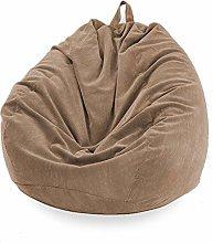 Lazy Sofa Corduroy Pants Large Bean Bag Chair Sofa