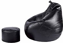 Lazy sofa GCX Bean Bag PU Leather Balcony Single