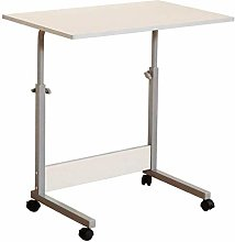 Lazy Table-Folding Table Wood Desk with Adjustable