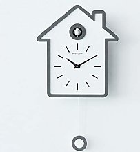 Lazzzgua 12 Inch Cuckoo Wall Clock, Simple and