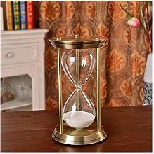 LBDH 1 Hour Metal Big Hourglass Sand Timer (Color