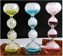 LBDH Glass Bubble Hourglass Timer Time Hourglass