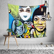LBHHH Abstract Van Gogh Tapestry Wall Hanging,