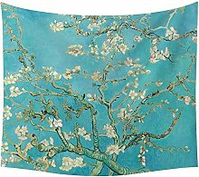 LBHHH Geometry Van Gogh Tapestries Wall Hanging
