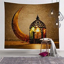 LBHHH New Ramadan Moon Wall Hanging Tapestry,