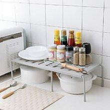 Lbtn - Adjustable Kitchen Under Sink Tidy Shelf