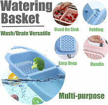 Lbtn - Retractable strainer Drain basket above