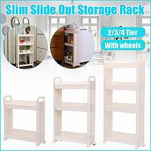 Lbtn - s 45cm Slim Slide Out Kitchen Bathroom Slim