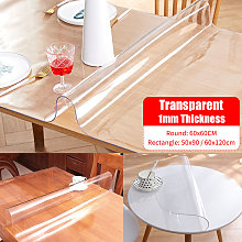 Lbtn - Soft Transparent Tablecloth Waterproof