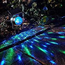 LCCDSD outside lights Solar Rotating Colorful