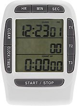 LCD Countdown Clock, Small Practical Multi-channel
