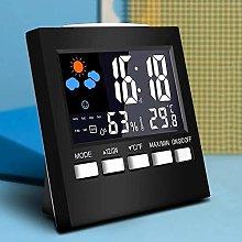 LCD Digital Clock Hygrometer Thermometer