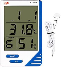 LCD Digital Indoor Outdoor In/Out Thermometer +