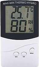 LCD Digital Max-Min Thermometer Hygrometer Indoor