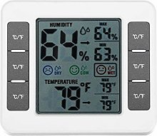 LCD Digital Thermometer Hygrometer Interior