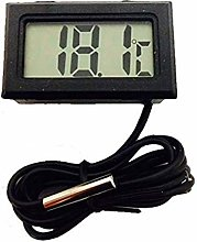 LCD Digital Thermometer with Battery Freezer Mini