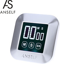 LCD Digital Touch Screen Cooking Kitchen Timer
