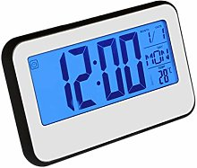 LCD Display Digital Alarm Clock Sound with