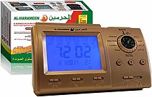 LCD Muslim Azan Clock With Qibla Compass HA-3005,