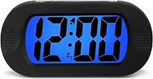 LCD Silence Snooze Alarm Silicone Shock And Drop