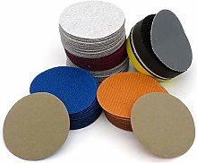 LCDIEB Sandpaper 100PCS 2 Inch Waterproof