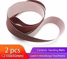 LCDIEB Sandpaper 2 PCS 50 * 2100MM Ceramic