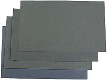 LCDIEB Sandpaper 6Pcs Wet/Dry Waterproof Abrasive
