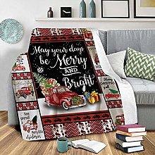 LCFF Throw Blanket Printed 3D Blanket Christmas