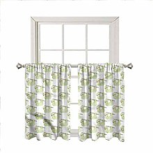 LCGGDB Sloth Rod Pocket Blackout Curtain